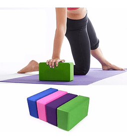 Ladrillo Yoga Fitness Goma Eva, Pilates Deporte