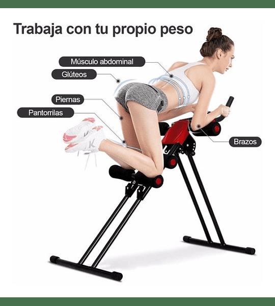 Máquina Abdominales De Ejercicios Brazos Musculos Abdomen