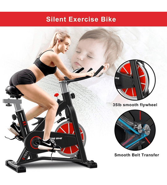 Bicicleta Spinning Fitness Cardio Performance Flywheel