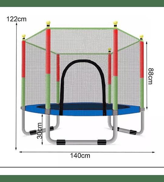 Mini Cama Elastica Trampolin Pequeño Niños