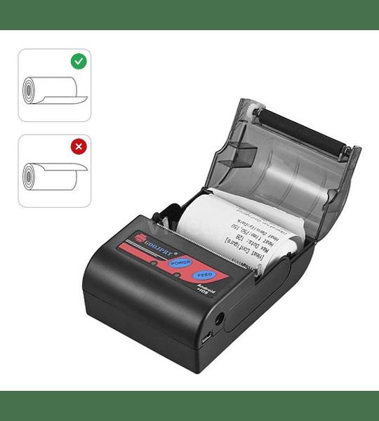 Impresora Térmica Portátil 58mm Bluetooth (sii E-boleta)