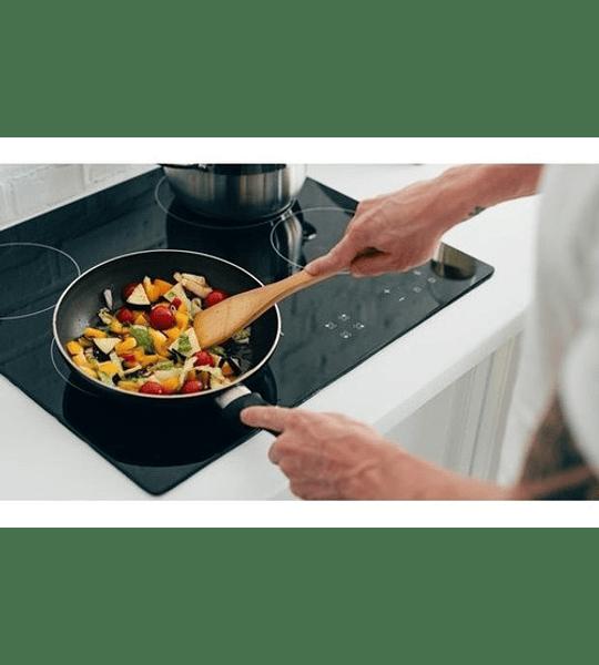 Set Ollas + Utensilios Cocina Induccion 17 Piezas