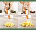 Picador Cortador Verduras Frutas Rayador Brava Multifunciona
