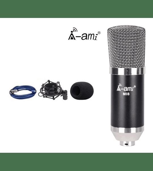 Microfono Condensador Omnidireccional Profesional Estudio