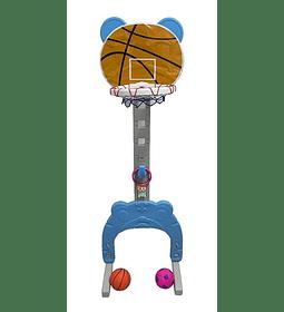 Aro Basquet Arco Futbol Juguete Musical Didactico