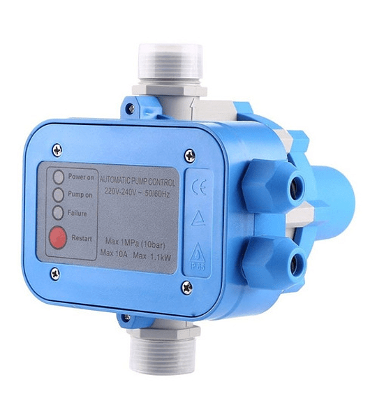 Controlador Electrónico Automatico Presion Para Bomba Agua