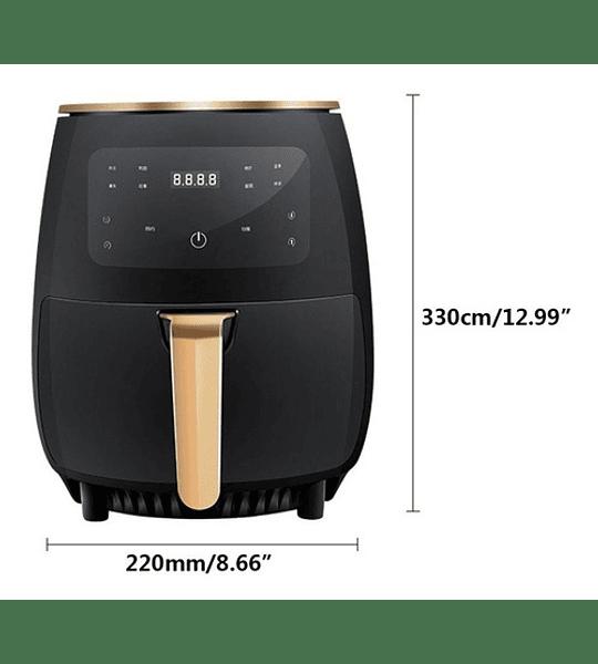 Freidora De Aire Libre Aceite 4.5 L Air Fryer