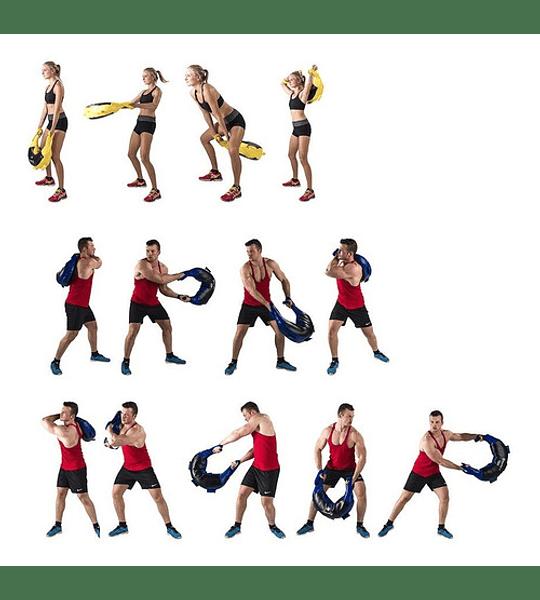 Saco Bulgaro De Entrenamiento Crossfit Con Arena Peso 10kg