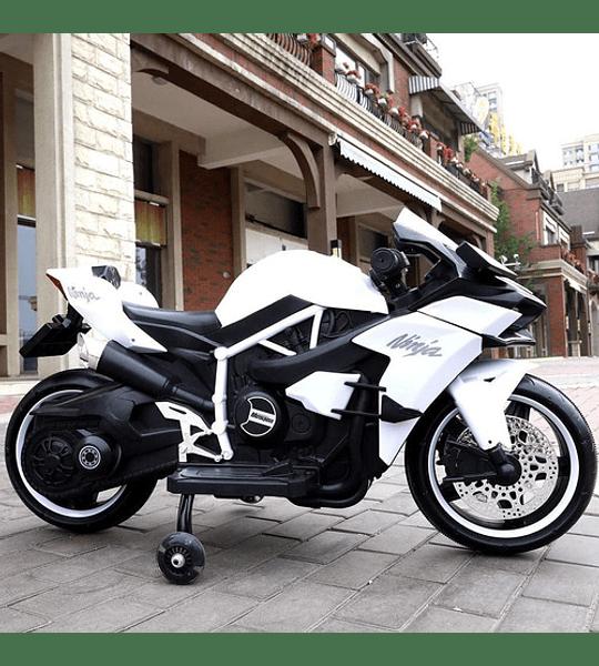 Moto Eléctrica Mini Ninja Led Niños Bateria Recargable