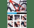 Kit Herramientas Bicicletas Con Bombin Reparacion Accesorios