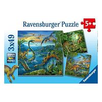 Puzzles 3x49 Piezas
