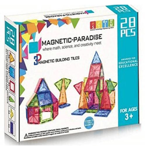 Juego de 28 piezas magnéticas Magnetic-Paradise