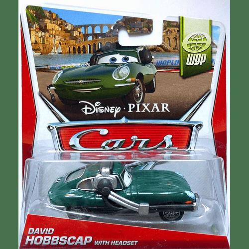 David Hobbscapp w/headset - World of Cars 2014