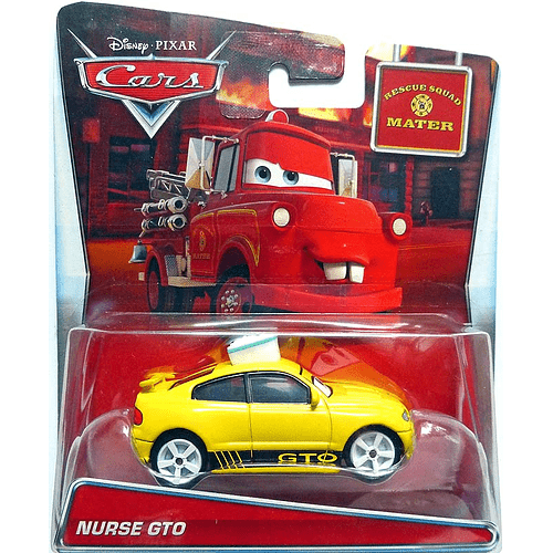 Nurse GTO - Cars Toon 2 - Rescue Squad Mater
