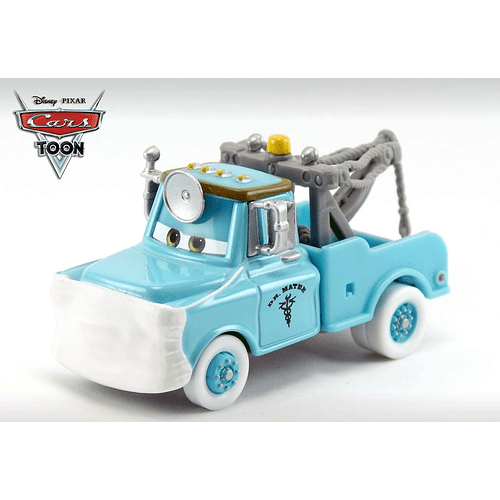 Dr Mater with Mask up - Cars Toon 2 - Rescue Squad Mater