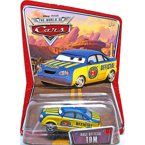 Race Official Tom - World of Cars