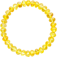 Pulsera de Ámbar Adultos - Limon