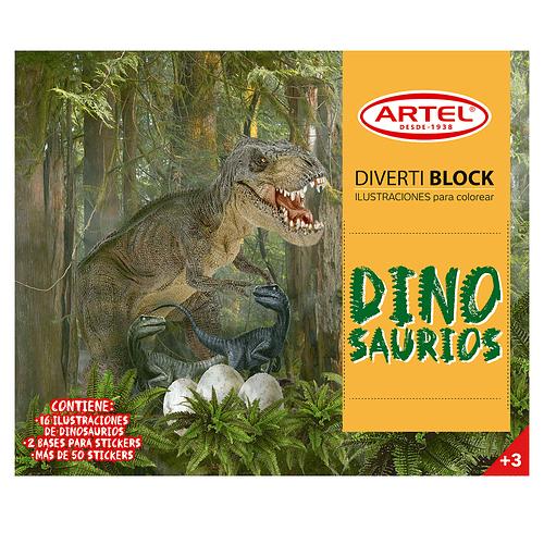 DivertiBlock Dinosaurios