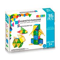 Juego de 36 piezas magnéticas Magnetic-Paradise