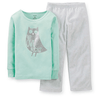 Pijama Micropolar 2 Piezas Carter's 2T