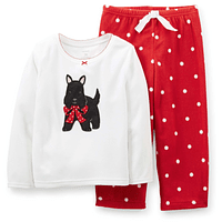 Pijama Micropolar 2 Piezas Carter's