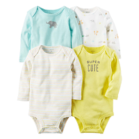 Set de 4 Bodysuits Carter's