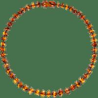 Collar de Ámbar Bebes - Cognac
