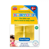 Vasos BabyCup Amarillo - Set 4 Vasitos