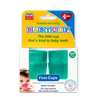 Vasos BabyCup Verde - Set 4 Vasitos