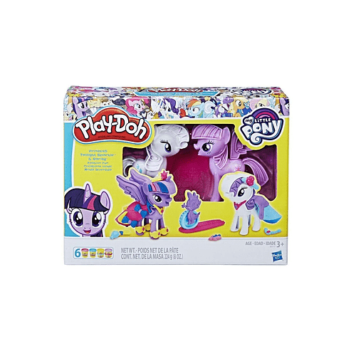 Play-Doh Princess Twilight Sparkle & Rarity - My Little Pony
