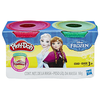 Play Doh Disney Princesas Frozen Pack 2 Latas