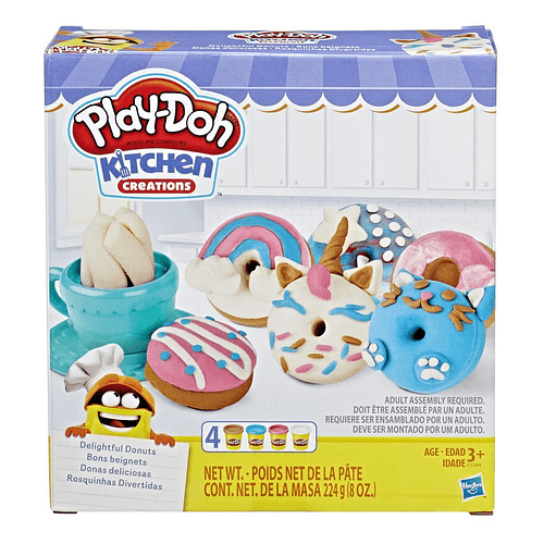 Play-Doh Kitchen Creations - Donas Deliciosas