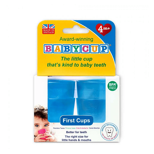 Vasos BabyCup Azul - Set 4 Vasitos