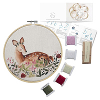 Mini Kit para bordar Bambi del Bosque
