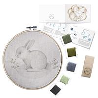 Mini Kit para bordar Conejo