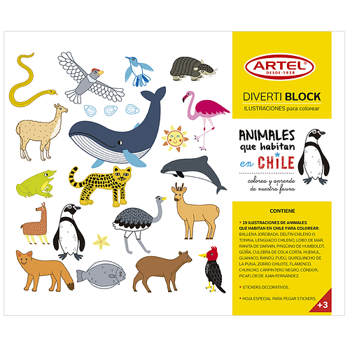 DivertiBlock Animales Chileno