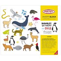 DivertiBlock Animales Chileno