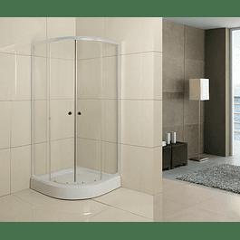 Cabina de ducha base curva precio desde: