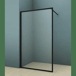 Mampara Premium Fija Black 100 cm