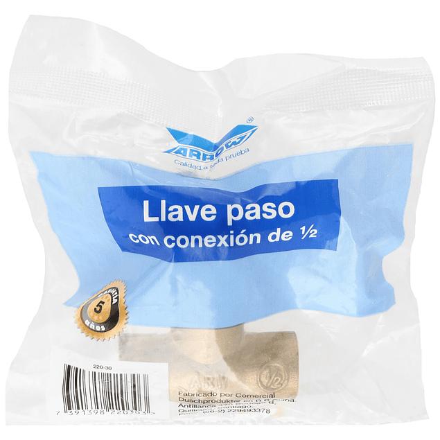 Llave de Paso So-So 1/2