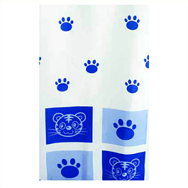 Cat Blue - Cortina de Baño Hangless