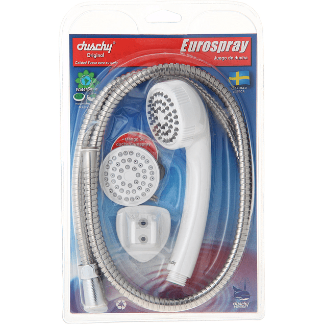 Eurospray - Juego de Ducha Blanco