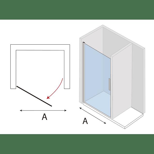 Mampara  Puerta Abatible