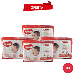 Pack Huggies Natural Care XXG