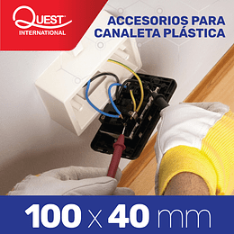 Accesorios Canaleta 100x40 mm