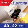 Accesorios Canaleta 40x22 mm