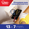 Accesorios Canaleta 13x7 mm