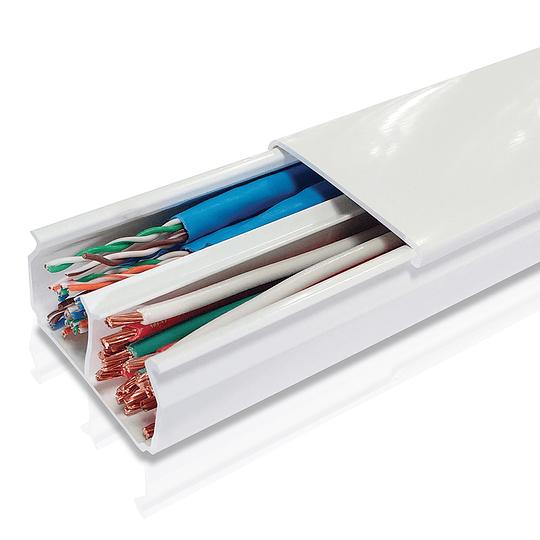 Canaleta Plástica 40 x 22 mm