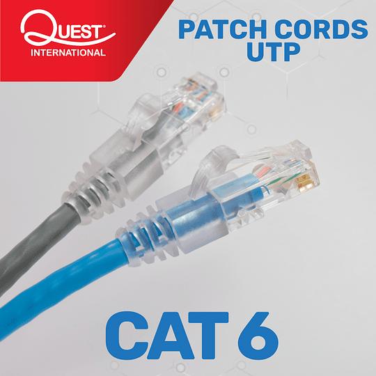 Patch Cords Categoría 6 UTP