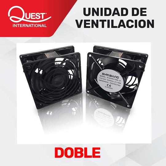 Kit de Ventilación Doble para Gabinetes